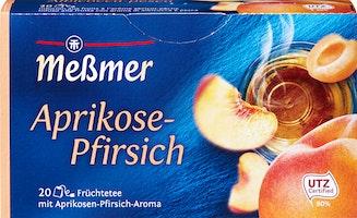 Messmer Tee Aprikose & Pfirsich