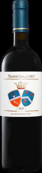 Jacopo Biondi Santi Sassoalloro Rosso Toscana IGT Vorderseite