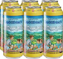 Bière non filtrée Quöllfrisch Appenzeller