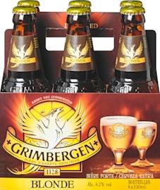Bière blonde Grimbergen