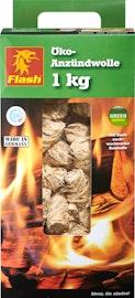 Allume-feu écologique en laine de bois Flash