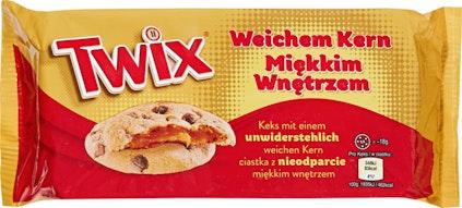 Twix Cookies soft center