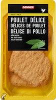Délice di pollo all'aglio orsino Denner