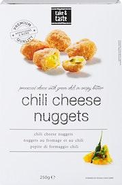 Pepite di formaggio e chili
