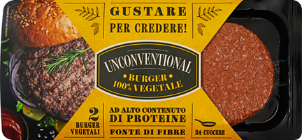Granarolo Unconventional Vegan Burger