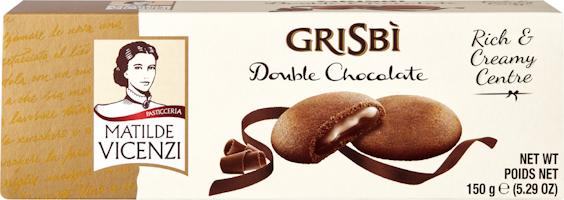 Matilde Vincenzi Biscuits Grisbì Double Chocolate