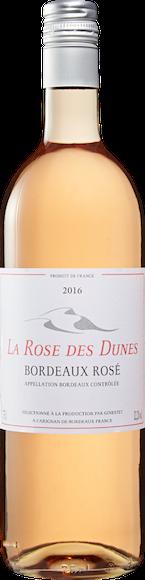 La Rose des Dunes Rosé Bordeaux AOC  Vorderseite