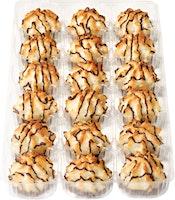 Mini-macarons à la noix de coco