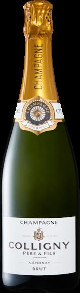 Colligny brut Champagne AOC De face
