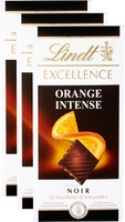 Tablette de chocolat Orange Intense Excellence Lindt