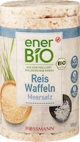 Wafer di riso Sale marino enerBiO