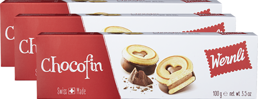 Wernli Biscuits Chocofin