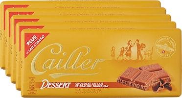 Tablette de chocolat Dessert Cailler