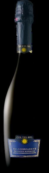 Col del Sol extra dry Prosecco Valdobbiadene DOCG Davanti