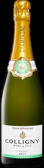 Colligny brut bio Champagne AOC Vorderseite
