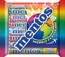 Mentos World Flavours