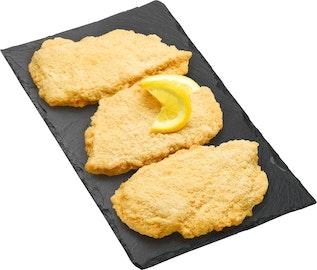 Pouletschnitzel paniert