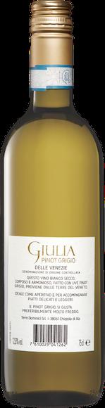 Giulia Pinot Grigio delle Venezie DOC Zurück