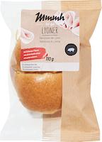 Petit pain à la saucisse de Lyon Mmmh