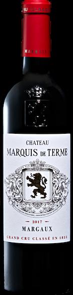 Château Marquis de Terme 4e Grand Cru Classé Margaux AOC Vorderseite