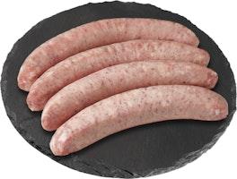 Luganiga lunga salsiccia di maiale da grigliare