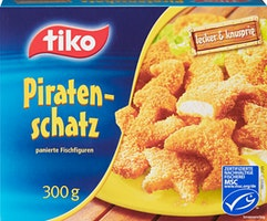 Figures de poisson Piratenschatz Tiko