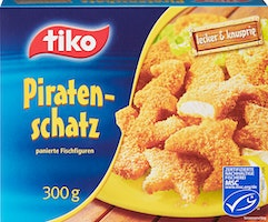 Figure di pesce Piratenschatz Tiko