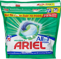 Lessive All in 1 Pods Universal Ariel