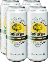 Somersby Elderflower Lime