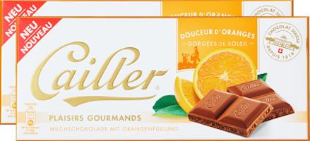 Tavoletta di cioccolata Plaisirs Gourmands Cailler