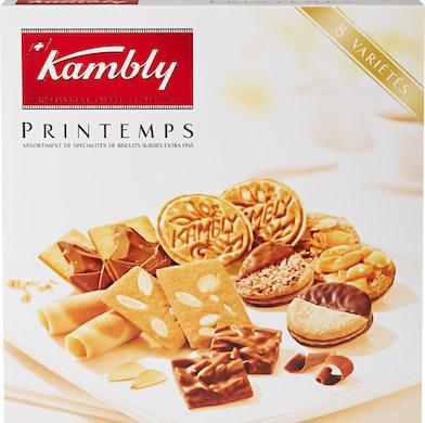 Assortiment de biscuits Printemps Kambly