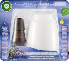 Kit de démarrage diffuseur de parfums aux huiles essentielles Air Wick