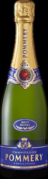 Pommery brut Royal Champagne AOC De face