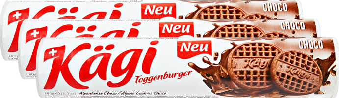 Kägi Biscuits au beurre choco Toggenburger