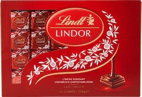 Les Carrés Lindor Lait Lindt