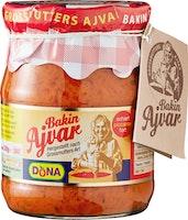 Bakin Ajvar fatto in casa piccante Dona