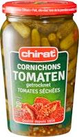 Cetriolini con pomodori secchi Chirat
