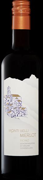 Monti Belli Merlot del Ticino DOC Vorderseite