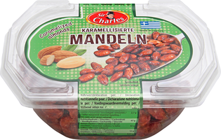 Sir Charles karamellisierte Mandeln