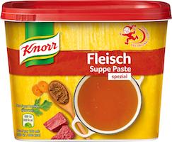 Bouillon de bœuf en pâte Knorr
