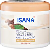 Crème corporelle Karité & Cacao ISANA