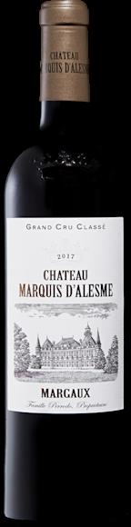 Château Marquis d'Alesme 3e Grand Cru Classé Margaux AOC Vorderseite