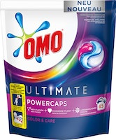 Capsules de lessive Ultimate Power Color & Care Omo