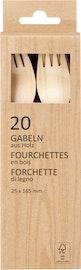 Fourchettes en bois FSC