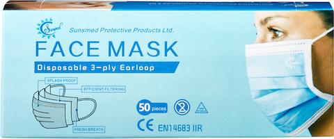 Hygienemasken Typ IIR