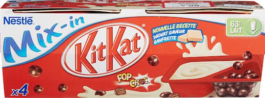 Yogourt Vanille Mix-in Nestlé