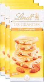 Tablette de chocolat Les Grandes Lindt