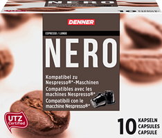 Denner Kaffeekapseln Nero