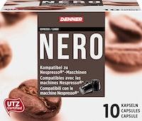 Capsules de café Nero Denner