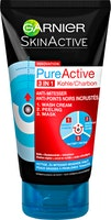 Detergente + Scrub + Maschera 3in1 PureActive Garnier